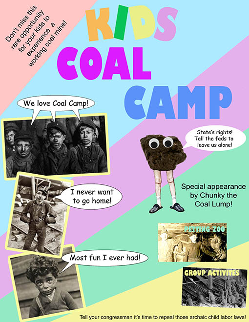 Kids Coal Camp