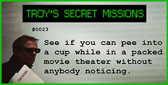 Troy's Secret Mission