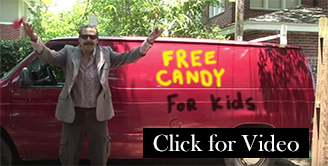 Free Candy for kids!