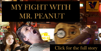 My fight with Mr. Peanut